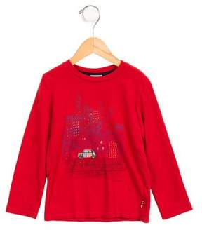 Paul Smith Boys' Long Sleeve Graphic Shirt