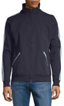 Sovereign Code Goods Rib-Trimmed Full Zip Jacket