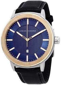Armani Exchange Blue Dial Men's Watch