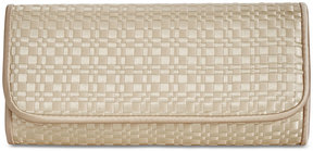 Adrianna Papell Susi Woven Small Envelope Clutch