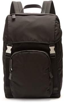 Prada Front-pocket nylon backpack