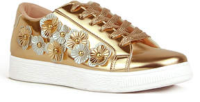 Refresh Rose Gold Floral Action Sneaker