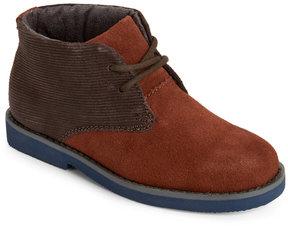 Florsheim Kids Boys) Mocha Quinlan Jr Chukka Boots