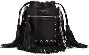 Sonia Rykiel fringed bucket shoulder bag