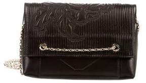 Oscar de la Renta Mini Grace Plissé Bag