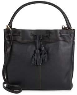 Cole Haan Loveth Tasseled Leather Tote Bag