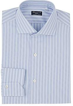 Finamore Men's Bengal Striped Cotton Shirt