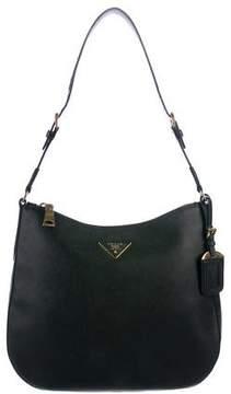 Prada Saffiano Leather Hobo