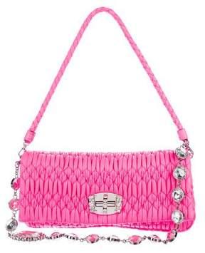Miu Miu Matelassé Leather Bag