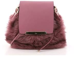 Christian Louboutin Pre-owned: Lucky L Convertible Backpack Fur With Leather.