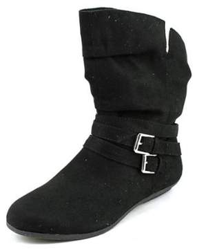 Rampage Bram Women Round Toe Synthetic Black Ankle Boot