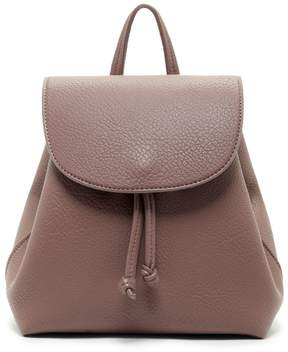 Jaylee Mini Backpack w/ Round Flap