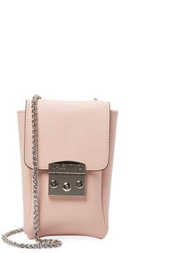 Mario Valentino Valentino by Women's Leather Phone Case Crossbody