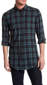 HUGO BOSS Elonge Plaid Slim Fit Shirt