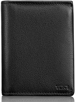 Tumi Men's Leather L-Fold Wallet - Black