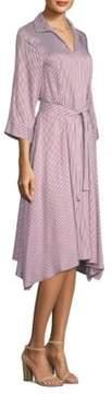 Peserico Collared Striped Dress