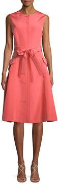 Carolina Herrera Women's Silk A-Line Dress