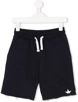 Macchia J Kids frayed track shorts