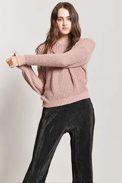Forever 21 Drop-Sleeve Crew Sweater