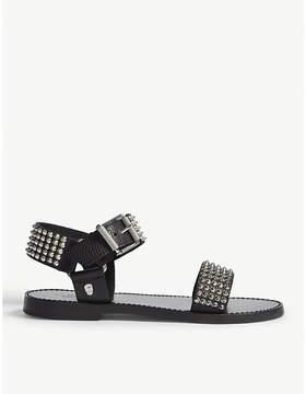 Zadig & Voltaire Roman leather sandals