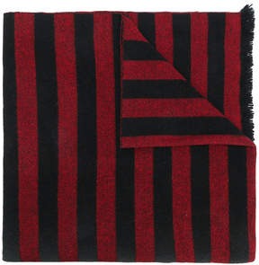 McQ striped monster scarf
