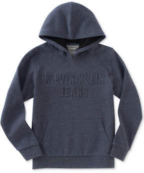 Calvin Klein Debossed-Logo Hoodie, Big Boys (8-20)