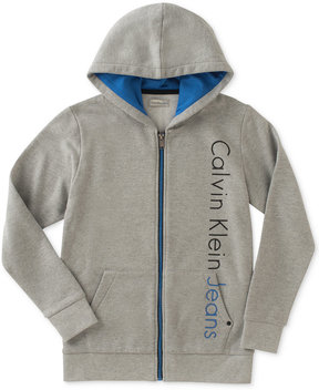 Calvin Klein Full-Zip Sweatshirt, Big Boys (8-20)