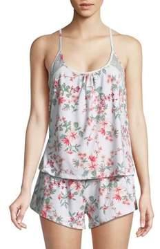 Flora Nikrooz Flora By Floral Camisole Pajama Set