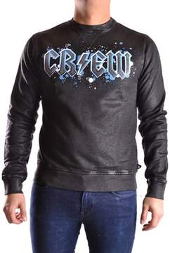 Meltin Pot Men's Light Blue/black Cotton Sweatshirt.