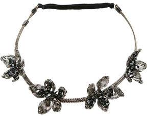 Colette Malouf Wild Flower Mesh Crown Headband