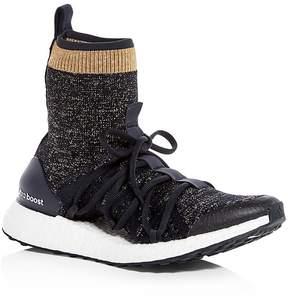 adidas by Stella McCartney Women's Ultraboost X Knit High Top Sneakers