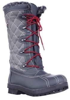 Sporto Camille Waterproof Winter Snow Boots, Grey.
