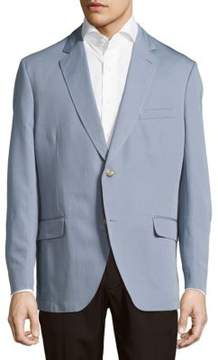 Kroon Taylor Solid Cotton & Linen Sportcoat
