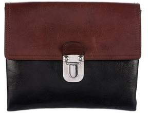 Marni Bicolor Leather Clutch Bag