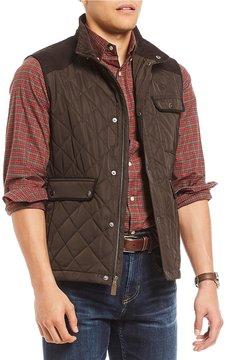 Daniel Cremieux Nolan Fleece Lined Full-Zip Quilted Vest