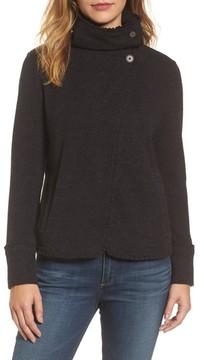 Caslon Women's Ruffle Trim Knit Jacket