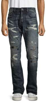 Cult of Individuality Greaser Distressed Whiskered Jeans