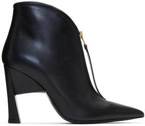 Marni Black Pointed Half Boots