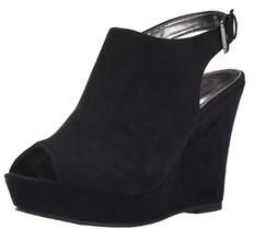 Rampage Women's Cleora Platform Wedge Sandals.