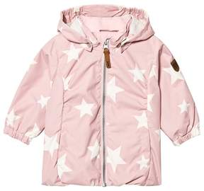 Ticket to Heaven Peachskin Rose Althea Jacket With Detachable Hood