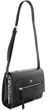 Roberto Cavalli Medium Shoulder Bag Leopride Black Shoulder Bag.