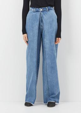 Aalto 80's Blue Front Pleats Jean