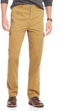 Roundtree & Yorke Casuals Washed Cargo Pants