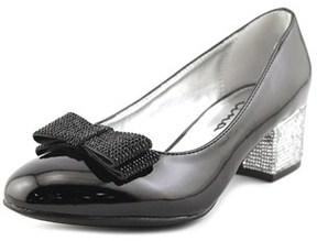 Nina Gisel Round Toe Patent Leather Heels.