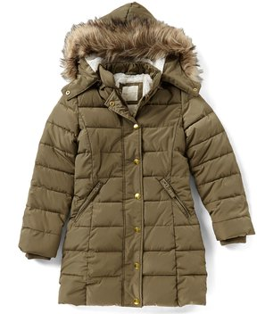 Copper Key Big Girls 7-16 Hooded Puffer Coat