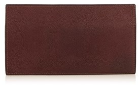 Hermes Pre-owned: Leather Long Wallet. - BROWN - STYLE