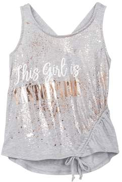 Ten Sixty Sherman This Girl Is Unstoppable Tank Top (Big Girls)