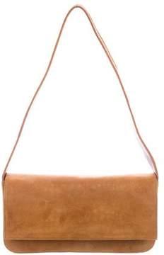 Stuart Weitzman Suede Shoulder Bag