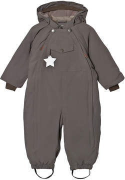 Mini A Ture Steel Grey Wisti Snowsuit