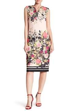 ECI Crepe Scuba Print Dress